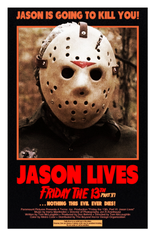 Friday-the-13th-part-VI-Jason-Lives-MINT-Poster-by-Beyond-Horror-Design