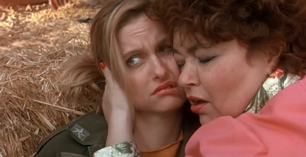 Plus, a Roseanne cameo...arguably the film's scariest moment.